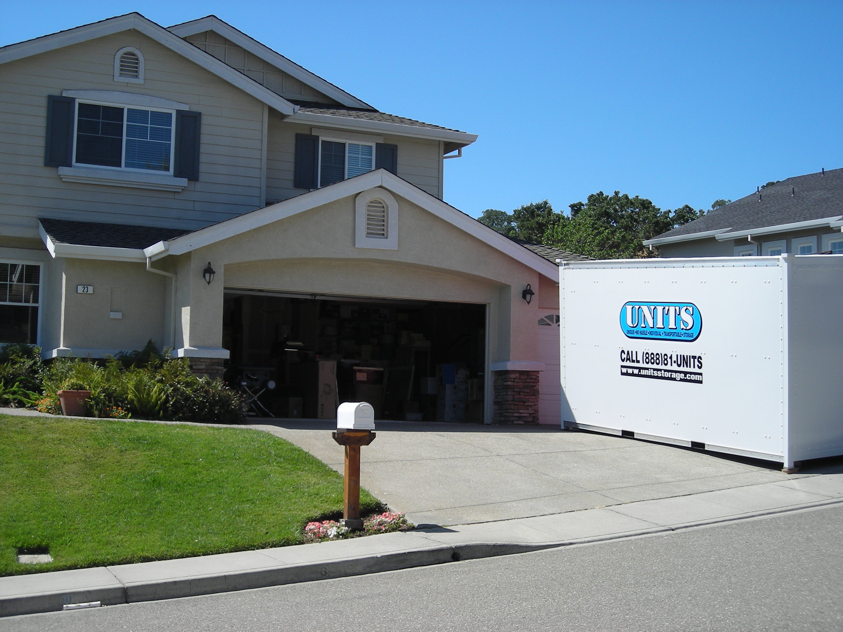 Units Moving and Portable Storage Is Your Moving Company in Pleasanton & Pleasanton Storage and Moving | UNITS Moving and Portable Storage