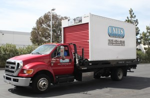 Units East Bay delivering a UNIT to a Danville home.