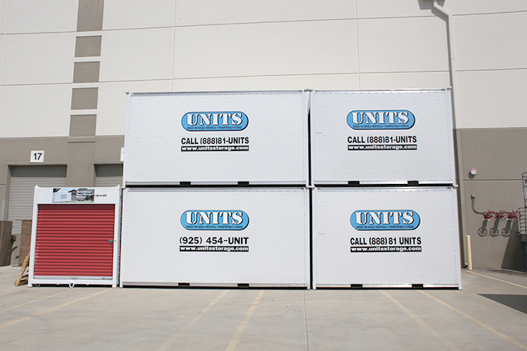 Stack of concord portable storage UNITS & Portable Storage in Concord | UNITS Moving and Portable Storage