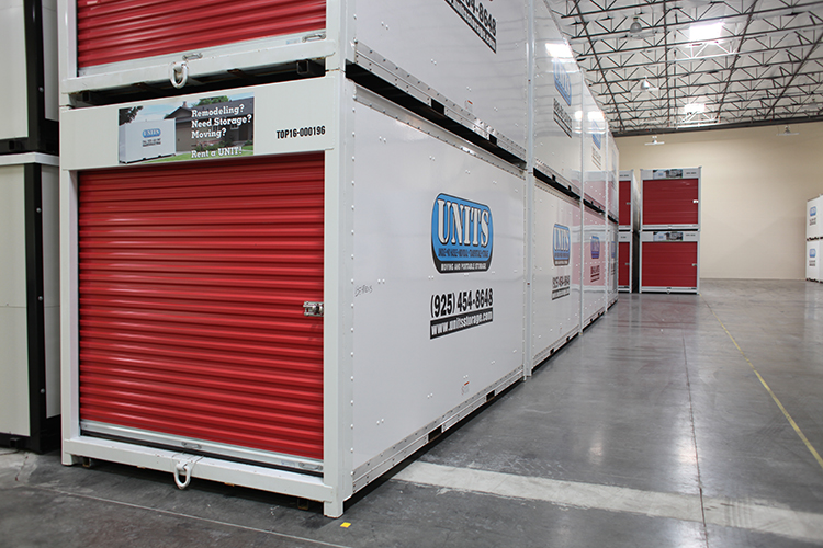 ... UNITS to Storage warehouse for storage containers in Concord & Portable Storage in Concord | UNITS Moving and Portable Storage