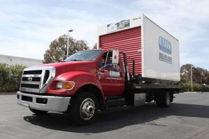 Alameda portable storage truck by UNITS